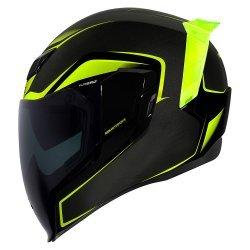 Icon Airflite Crosslink Helmet - Black Yellow