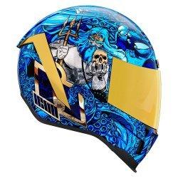 Icon Airform Ships Company Helmet - Blue