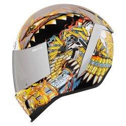 Icon Airform Warthog Helmet - Silver