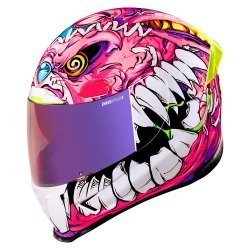 Icon Airframe Pro Beastie Bunny Helmet - Pink