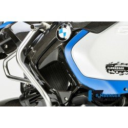 Ilmberger Carbon Air Outlet Cover on the Tank on the Left for Bmw R 1200 Gs (Lc) Adventure (From 2014) Part # Lal.007.gsa12.k