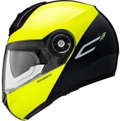 Schuberth C3 Pro Split Yellow Modular Helmet